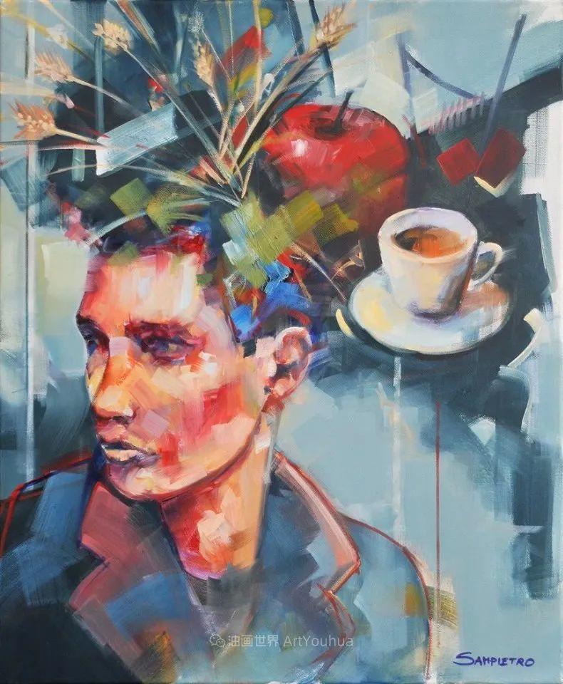 为艺术而艺术,意大利画家斯特凡诺·桑皮特罗插图29