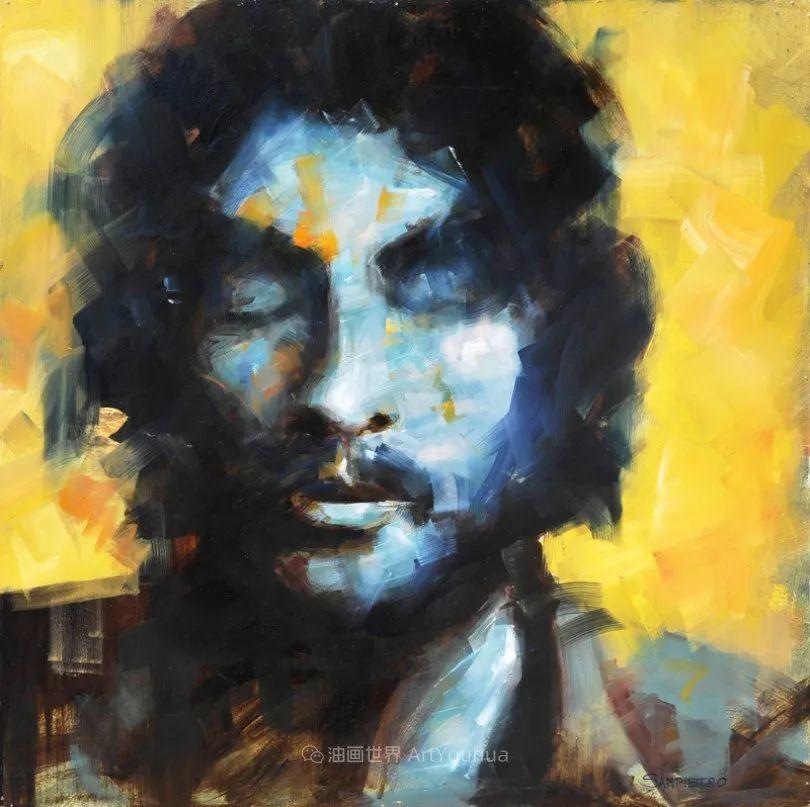 为艺术而艺术,意大利画家斯特凡诺·桑皮特罗插图31