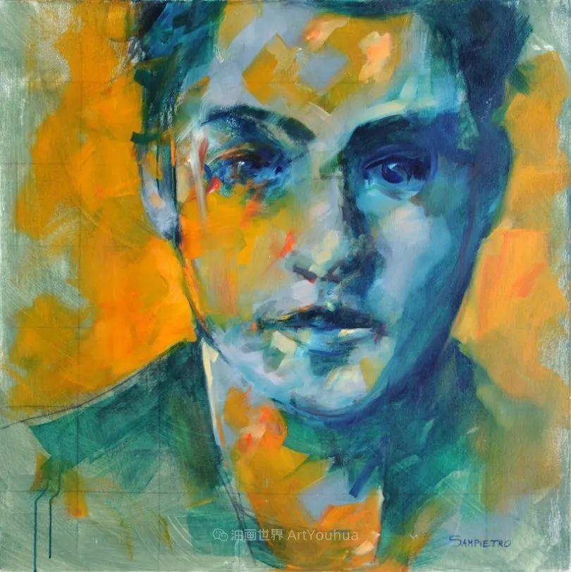 为艺术而艺术,意大利画家斯特凡诺·桑皮特罗插图33