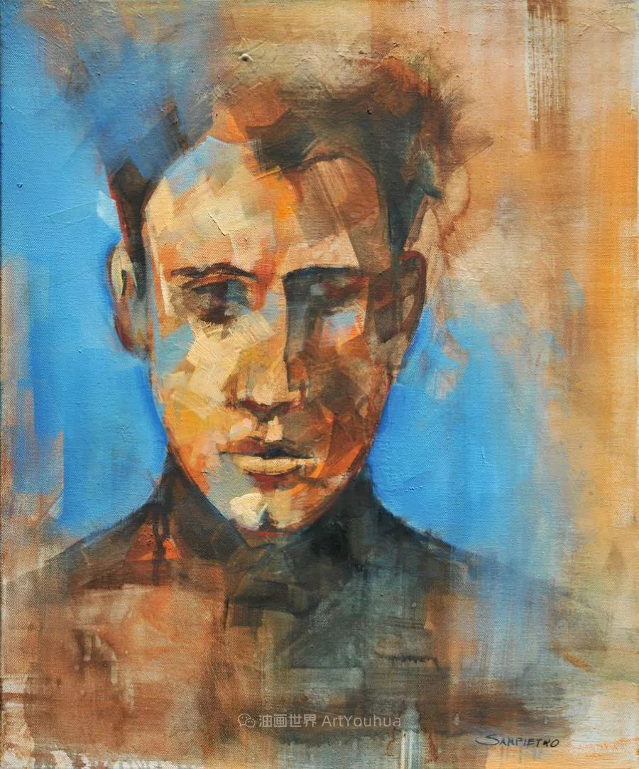 为艺术而艺术,意大利画家斯特凡诺·桑皮特罗插图39