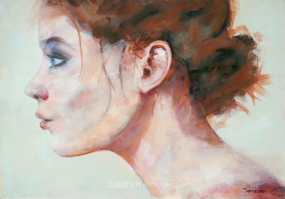 为艺术而艺术,意大利画家斯特凡诺·桑皮特罗插图65