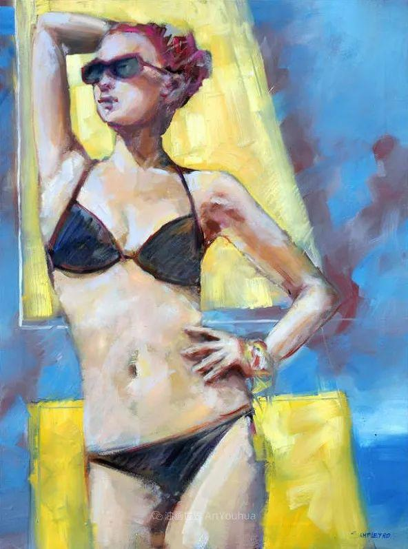 为艺术而艺术,意大利画家斯特凡诺·桑皮特罗插图67