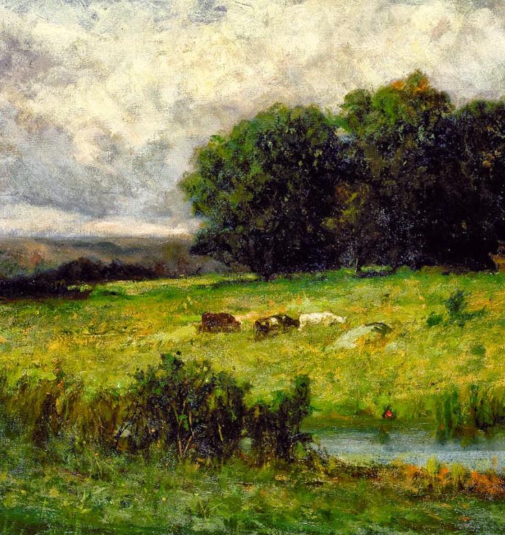 古典主义风格,宁静的田园风景画插图5