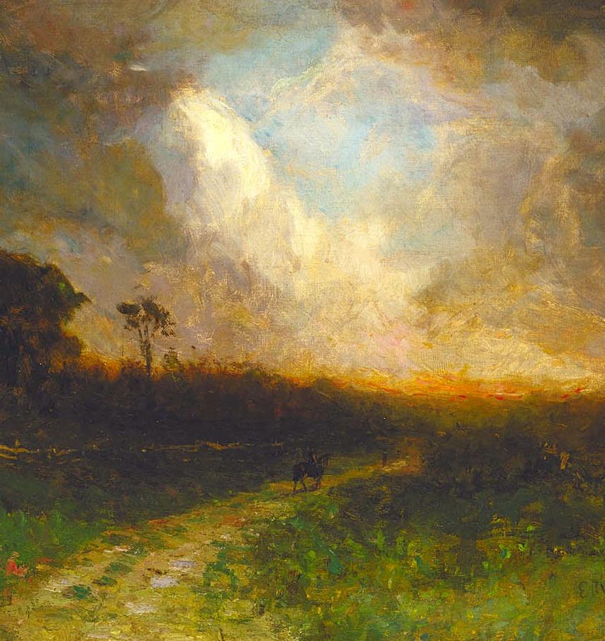 古典主义风格,宁静的田园风景画插图29