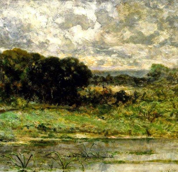 古典主义风格,宁静的田园风景画插图33