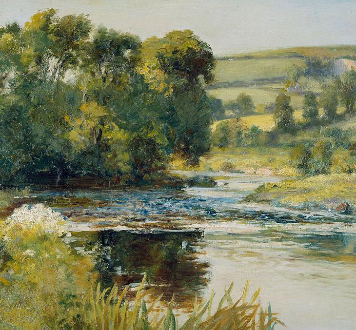 古典主义风格,宁静的田园风景画插图37
