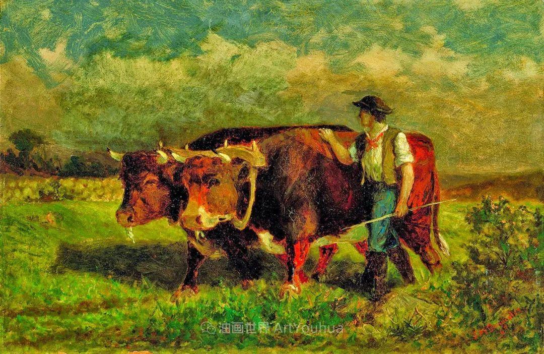 古典主义风格,宁静的田园风景画插图39