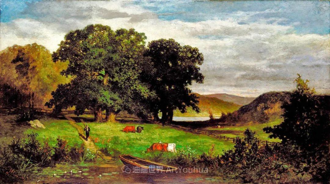 古典主义风格,宁静的田园风景画插图47