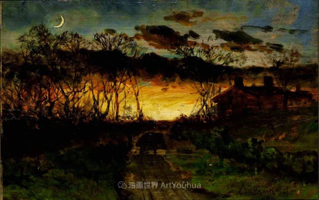 古典主义风格,宁静的田园风景画插图51