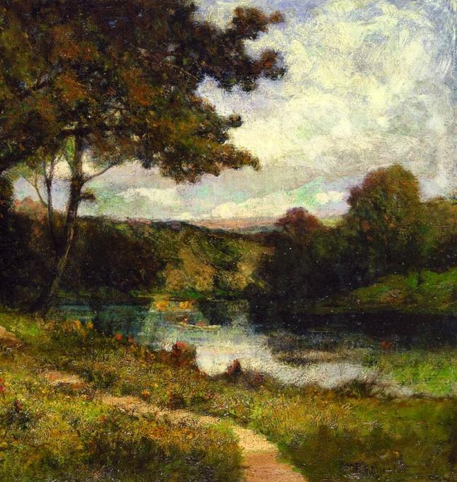 古典主义风格,宁静的田园风景画插图57
