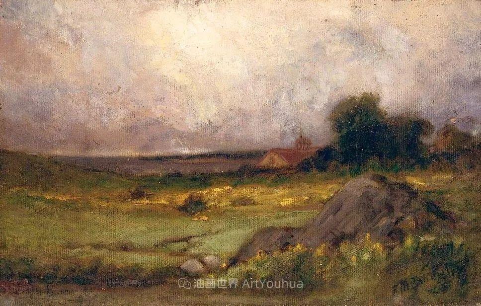 古典主义风格,宁静的田园风景画插图73
