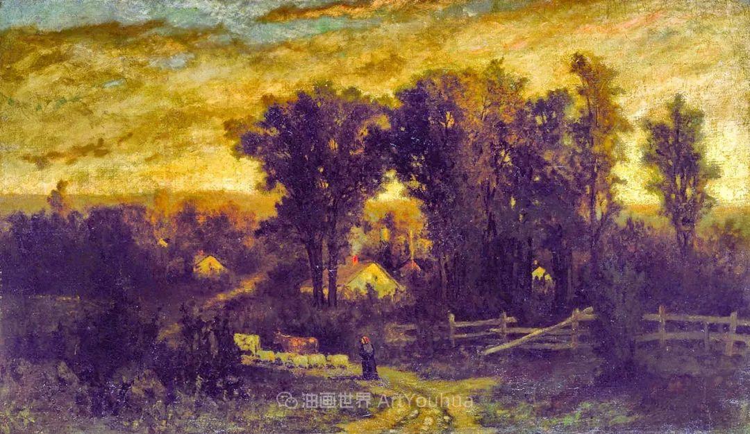 古典主义风格,宁静的田园风景画插图75