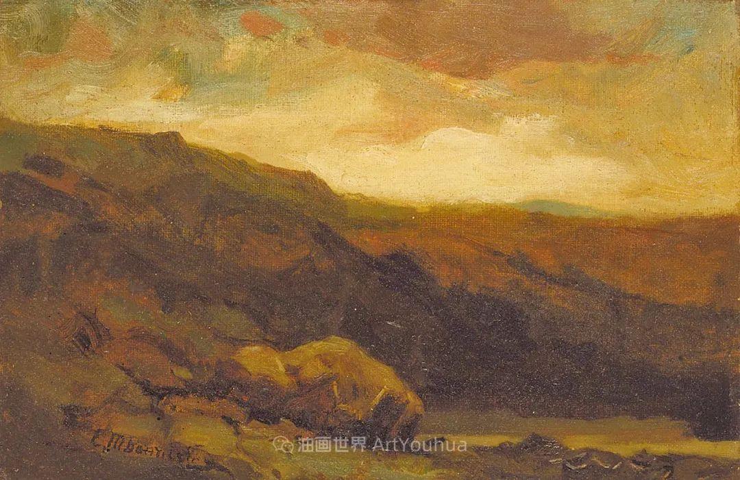 古典主义风格,宁静的田园风景画插图77