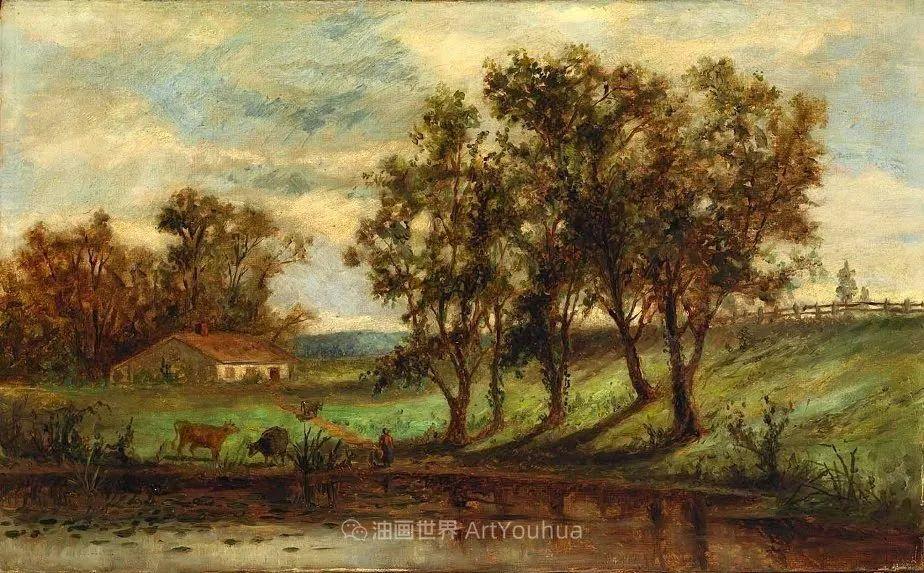 古典主义风格,宁静的田园风景画插图79