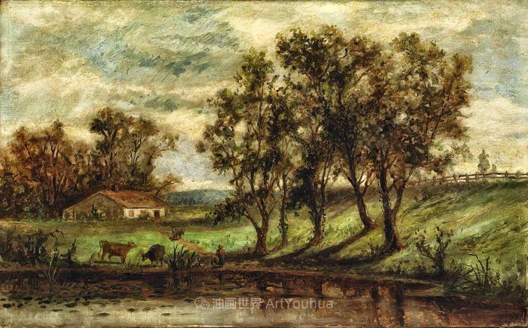 古典主义风格,宁静的田园风景画插图87