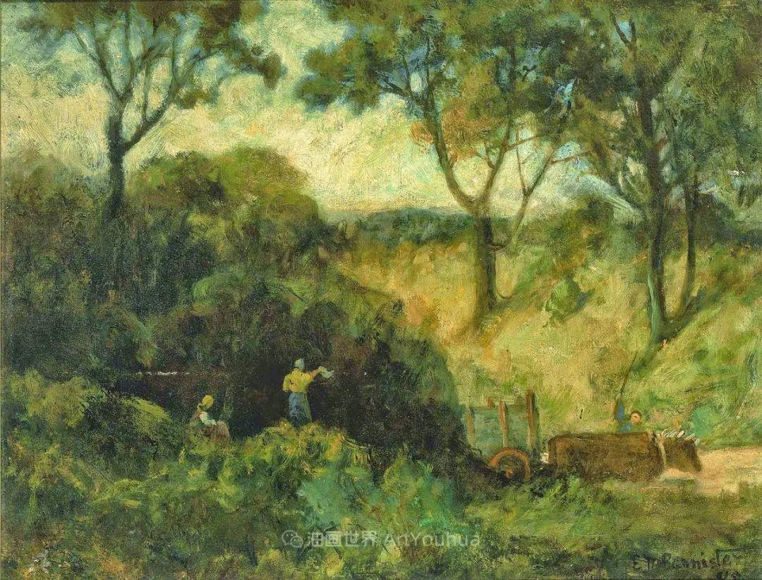 古典主义风格,宁静的田园风景画插图89