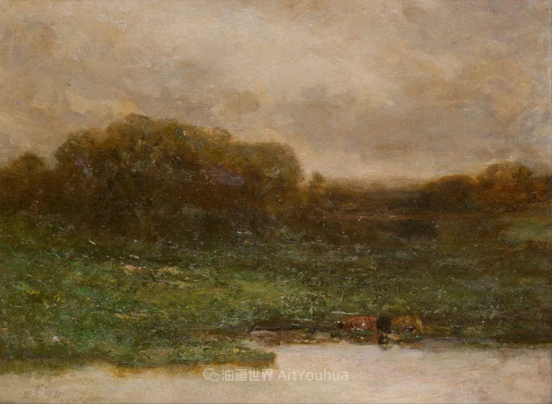 古典主义风格,宁静的田园风景画插图91