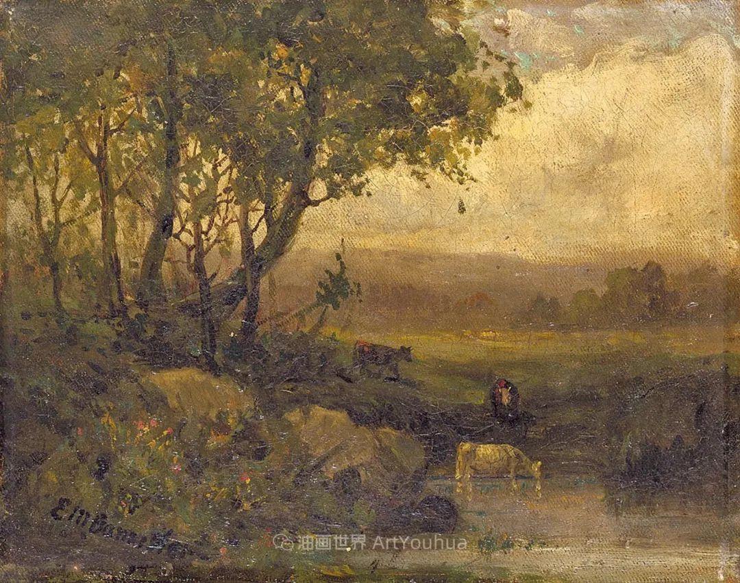 古典主义风格,宁静的田园风景画插图93