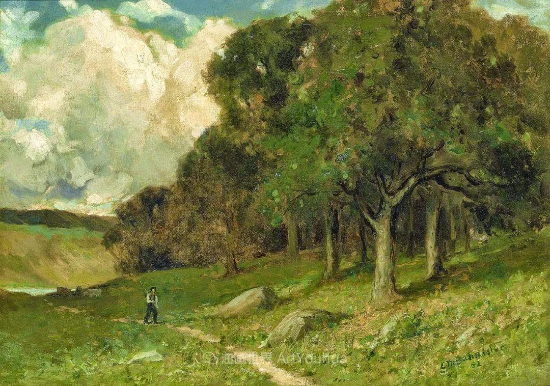 古典主义风格,宁静的田园风景画插图95