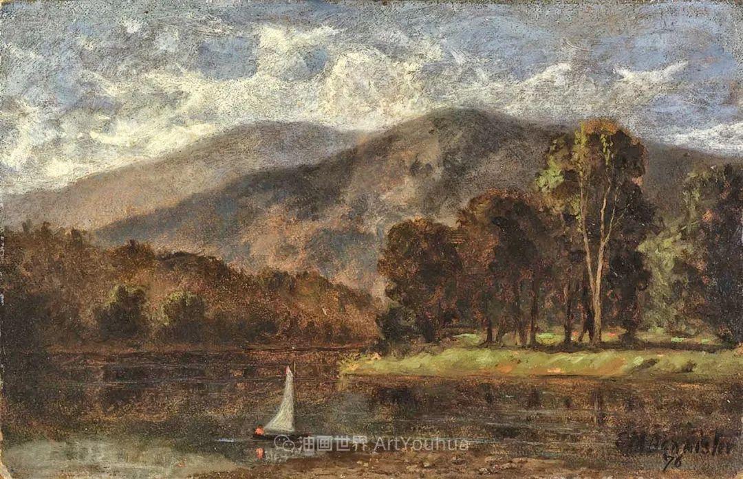 古典主义风格,宁静的田园风景画插图97