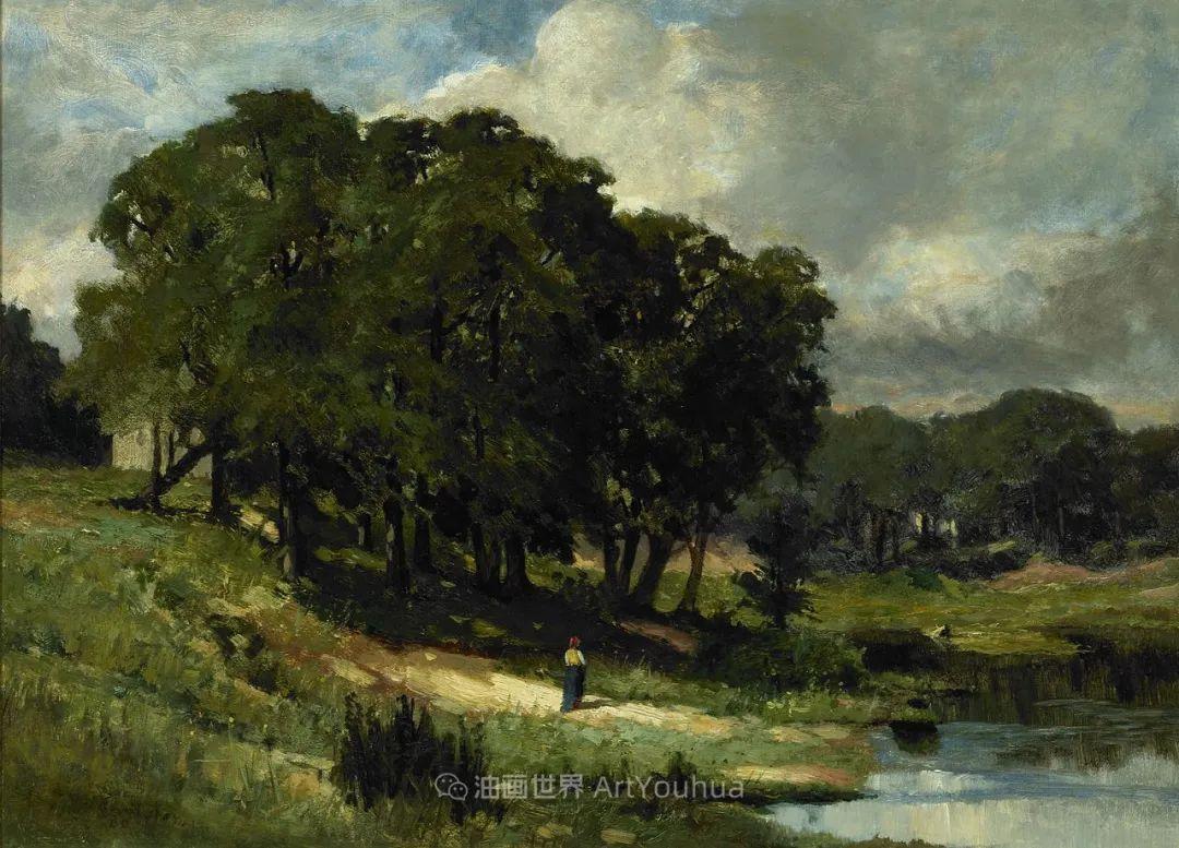 古典主义风格,宁静的田园风景画插图103