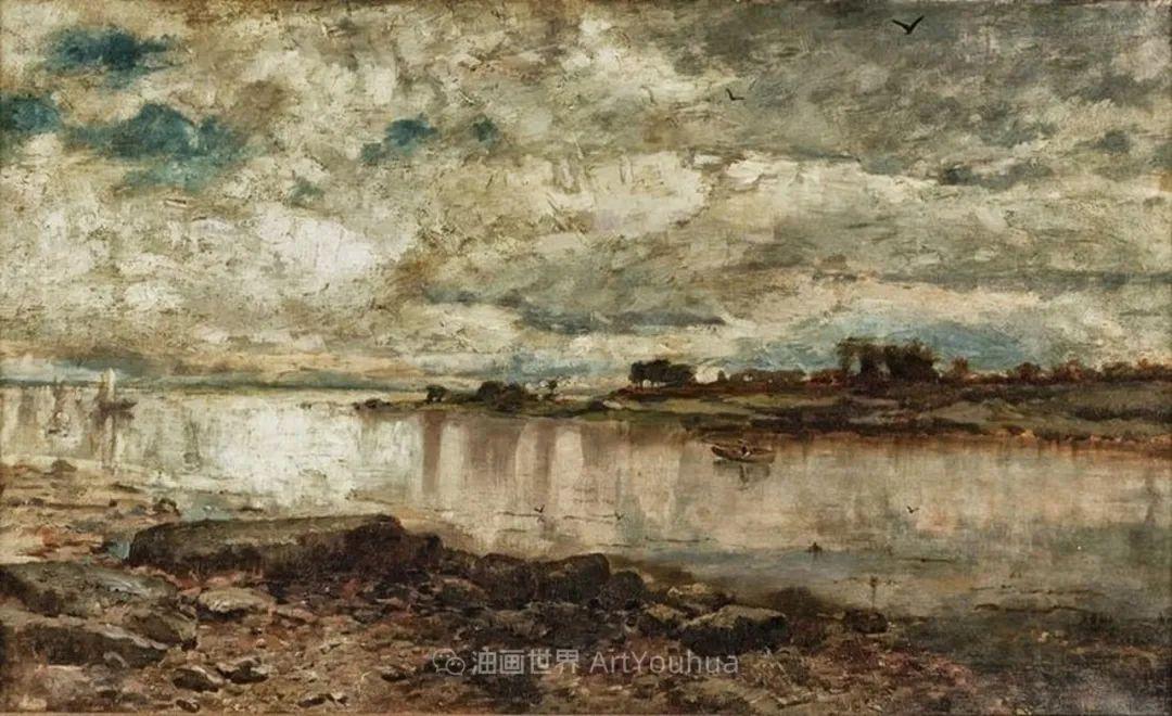 古典主义风格,宁静的田园风景画插图109