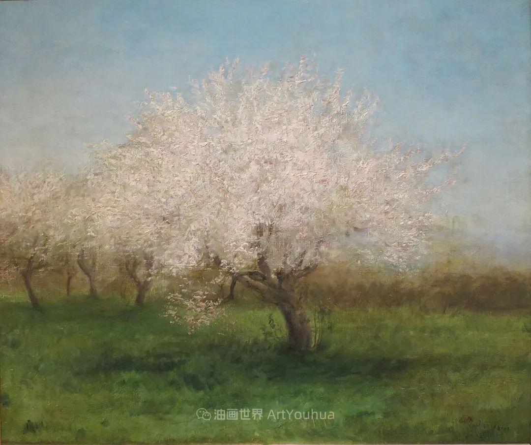 古典主义风格,宁静的田园风景画插图121
