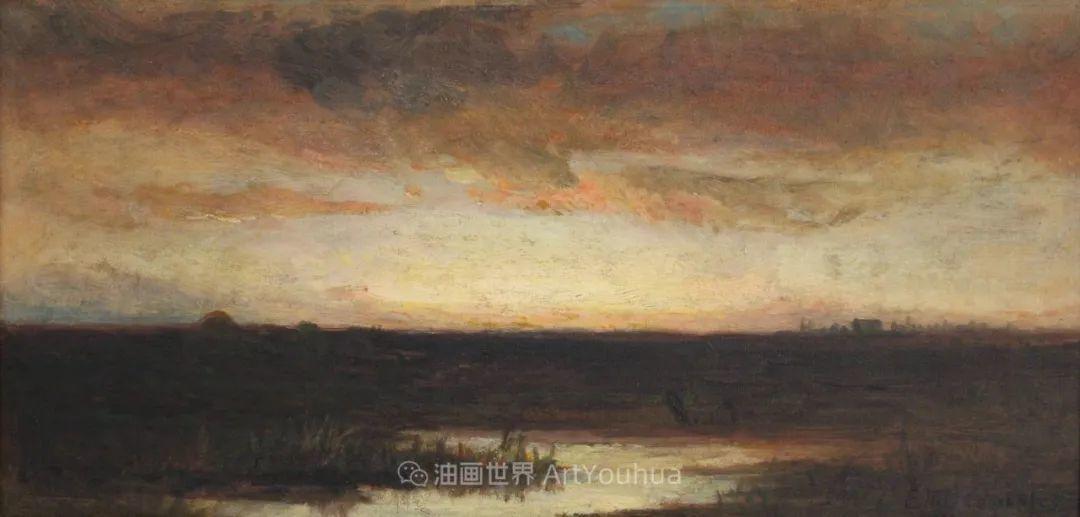 古典主义风格,宁静的田园风景画插图123