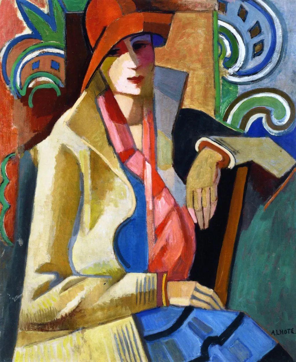 立体派,法国画家安德烈·洛特插图1