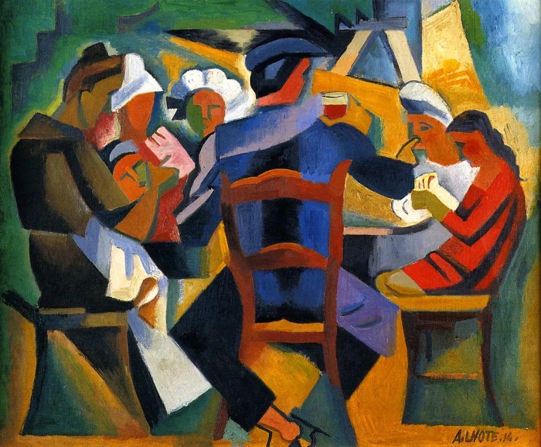 立体派,法国画家安德烈·洛特插图3