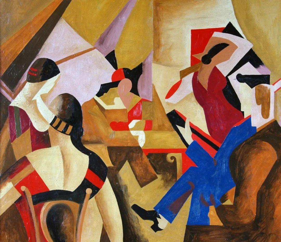 立体派,法国画家安德烈·洛特插图5