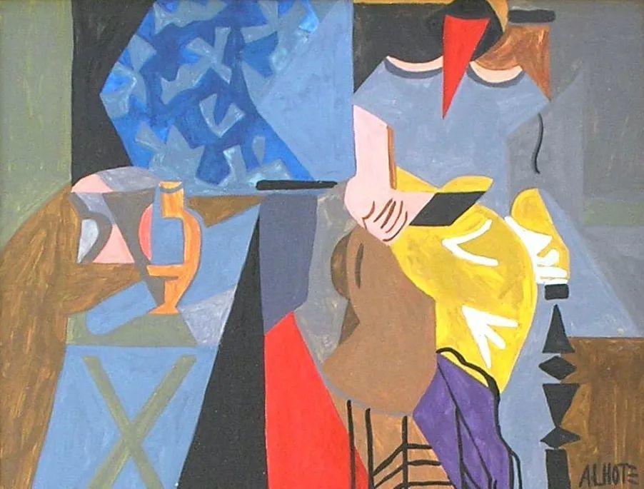 立体派,法国画家安德烈·洛特插图21