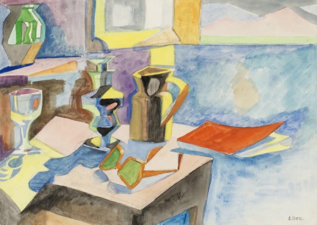 立体派,法国画家安德烈·洛特插图23
