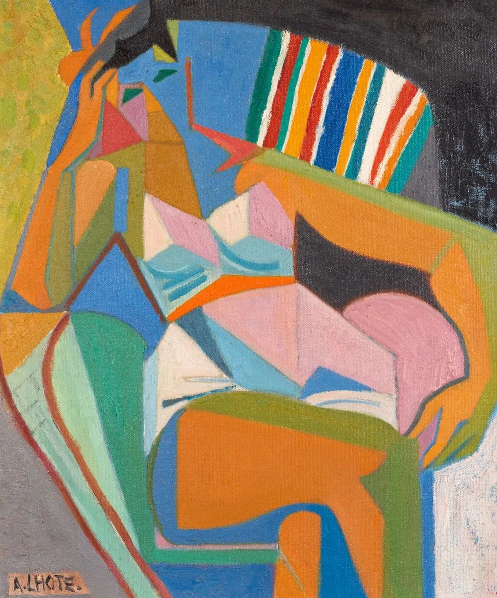 立体派,法国画家安德烈·洛特插图27