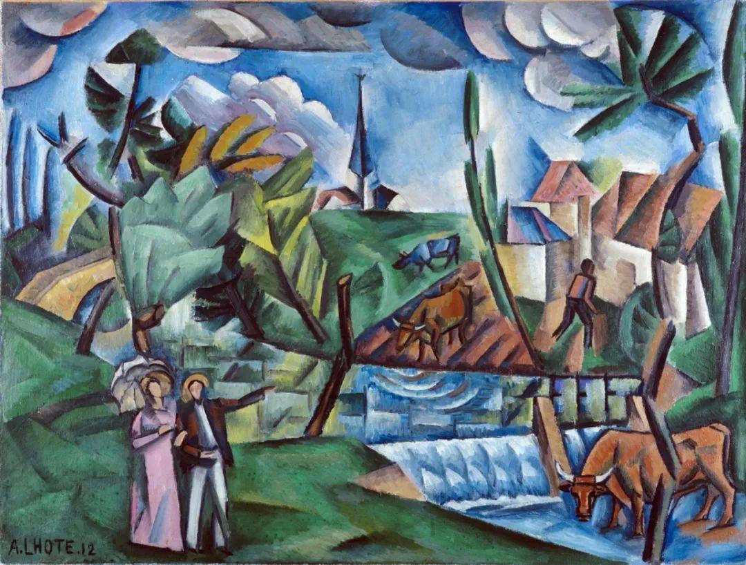 立体派,法国画家安德烈·洛特插图35