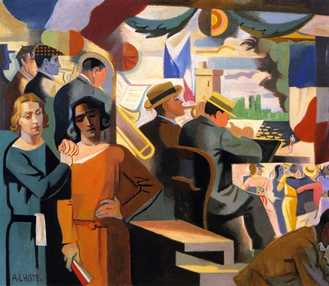 立体派,法国画家安德烈·洛特插图39