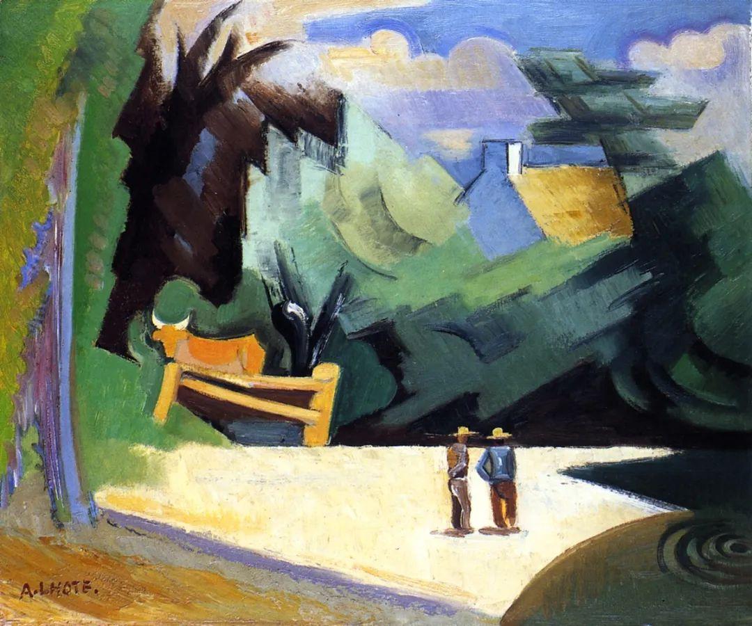 立体派,法国画家安德烈·洛特插图45