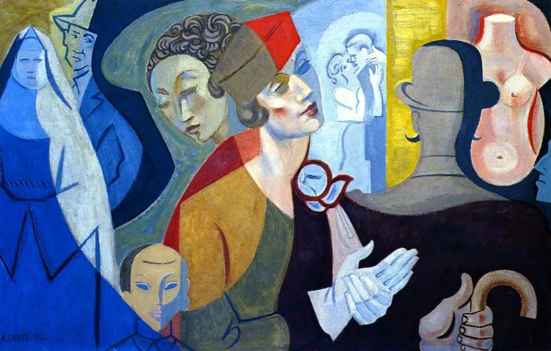 立体派,法国画家安德烈·洛特插图51