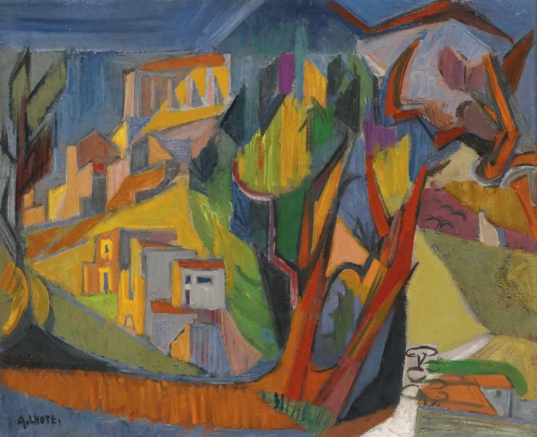 立体派,法国画家安德烈·洛特插图55