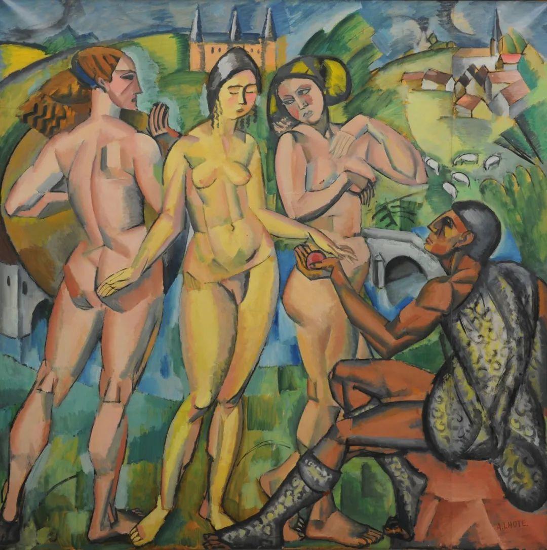 立体派,法国画家安德烈·洛特插图65