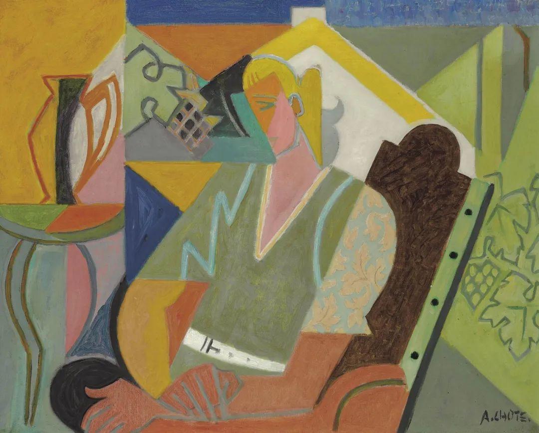 立体派,法国画家安德烈·洛特插图75