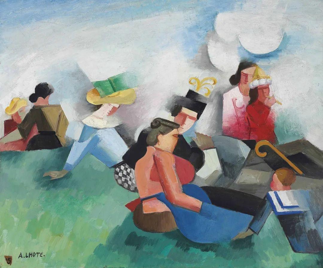立体派,法国画家安德烈·洛特插图77