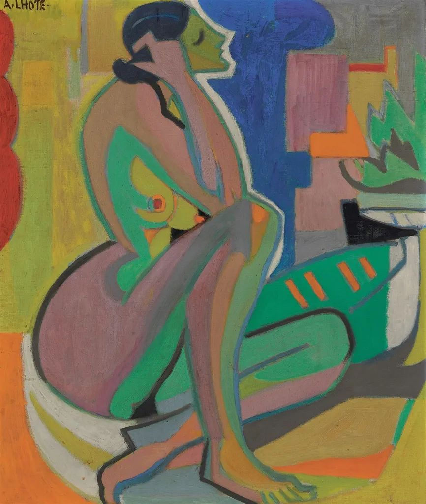 立体派,法国画家安德烈·洛特插图79
