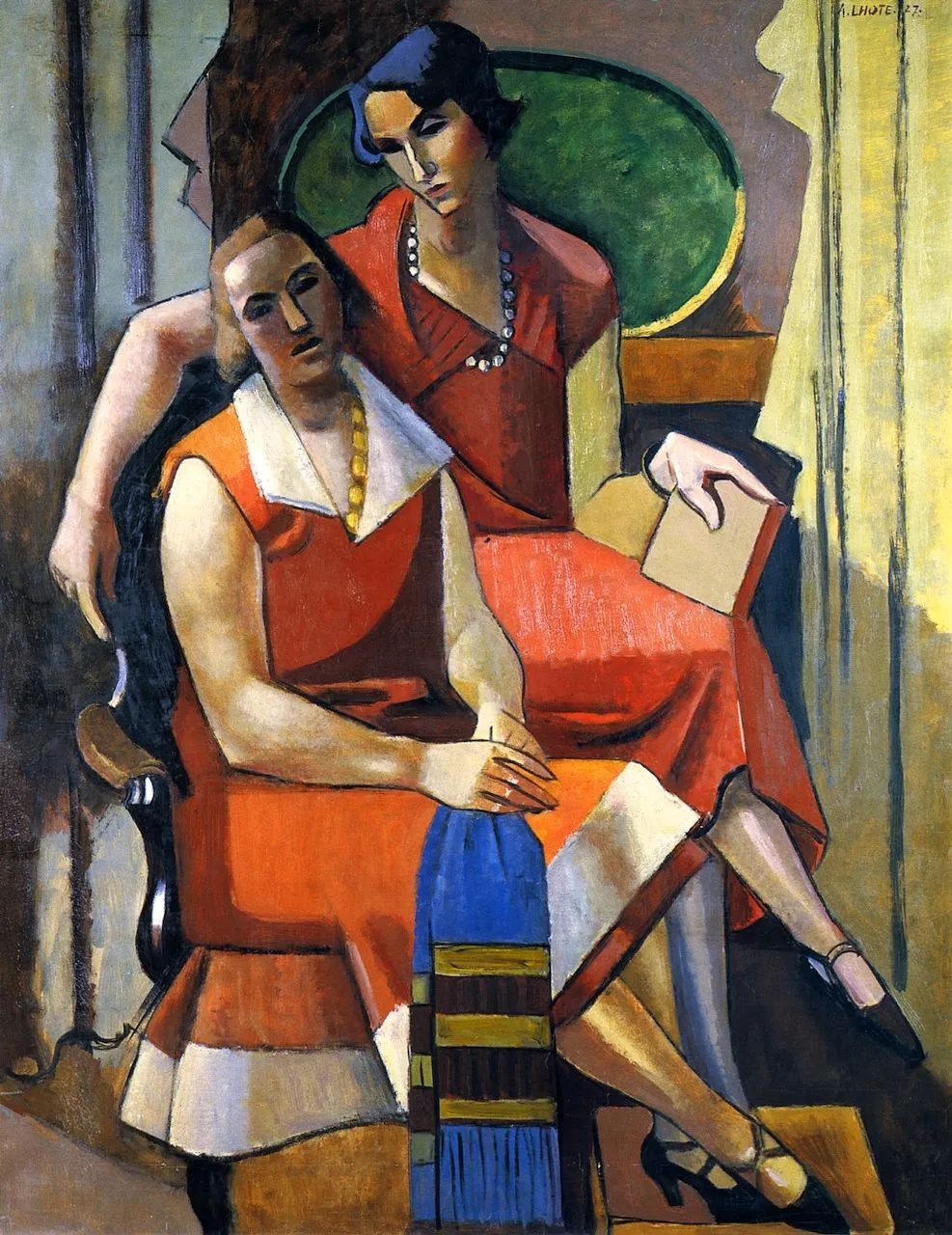 立体派,法国画家安德烈·洛特插图85