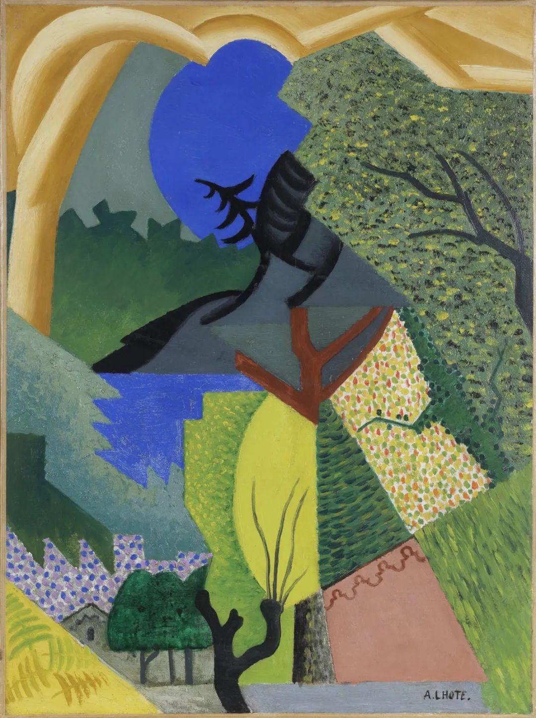立体派,法国画家安德烈·洛特插图89