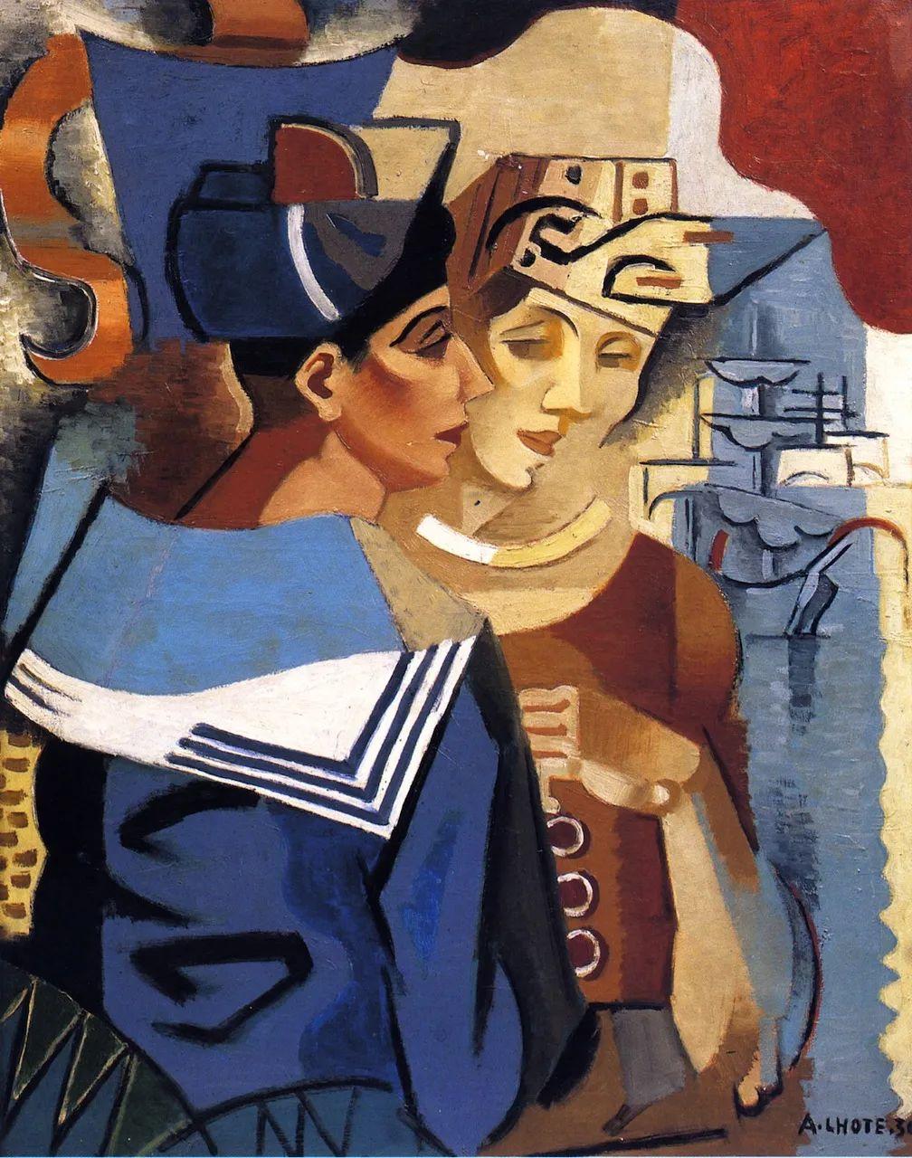 立体派,法国画家安德烈·洛特插图91