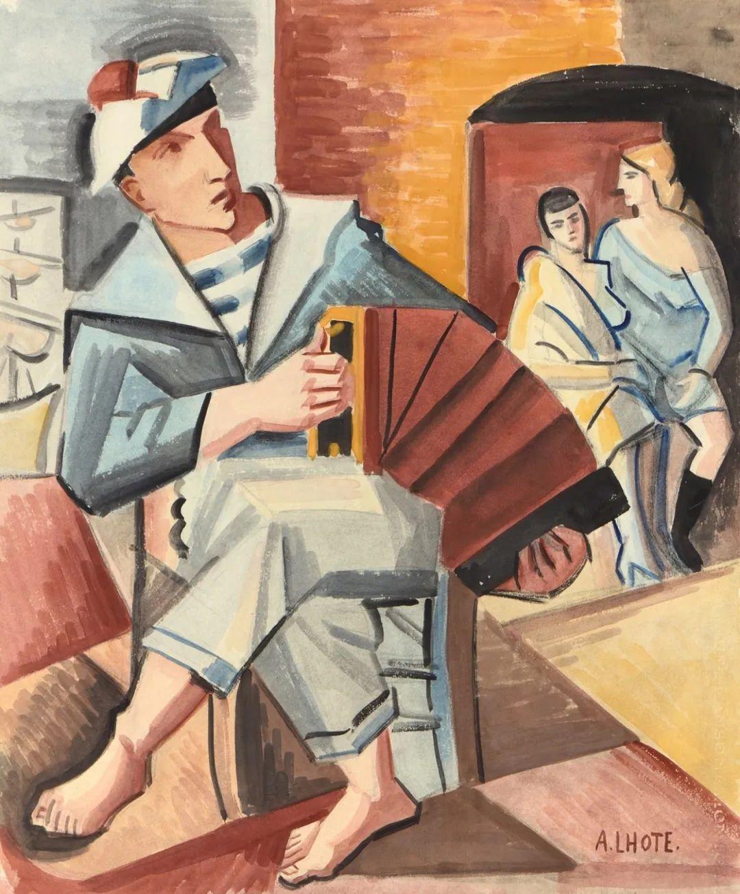立体派,法国画家安德烈·洛特插图93