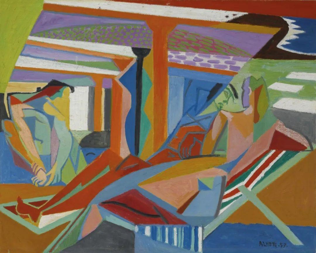 立体派,法国画家安德烈·洛特插图97