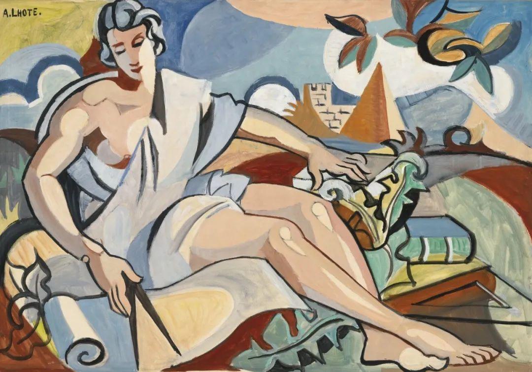 立体派,法国画家安德烈·洛特插图99