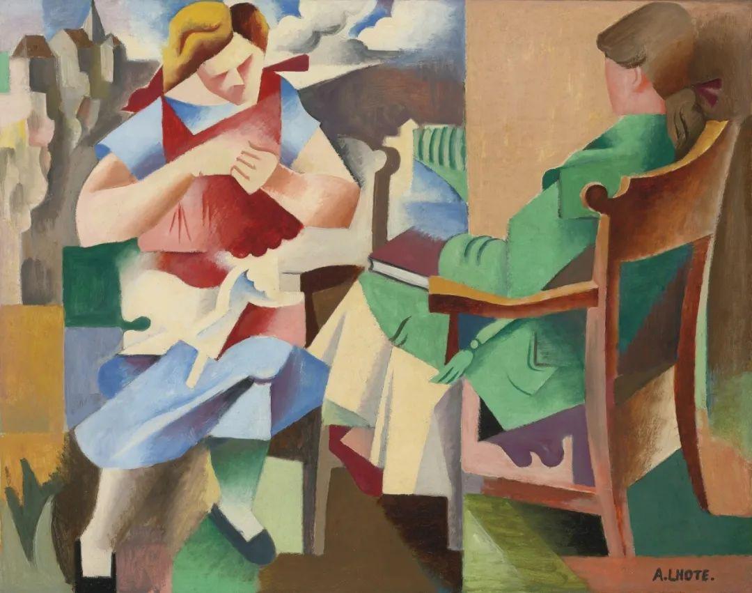 立体派,法国画家安德烈·洛特插图103